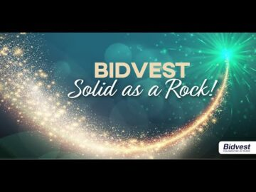Bidvest Solid as a Rock! – David Bloch International